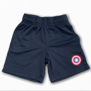 Captain America Toddler Boy Shorts